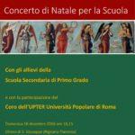 Manifesto del Concerto di Natale 2016